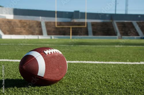 fototapeta na ścianę American Football on Field