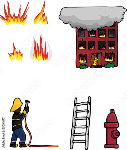 Fire Fighting Collection 01