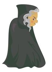 a cartoon witch