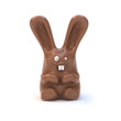 Chocolate bunny isolated on white - 25100092