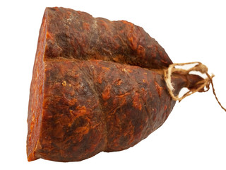 Croatian peppery ham