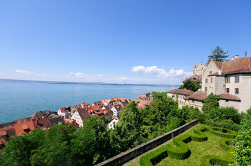 Meersburg and Lake Constance, Germany