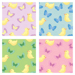 Seamless children background pattern