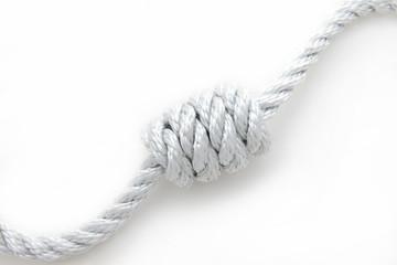 Cima bianca con nodo