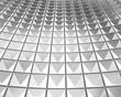 Cruve shape shiny silver background