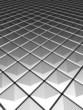 Illution silver aluminium pattern