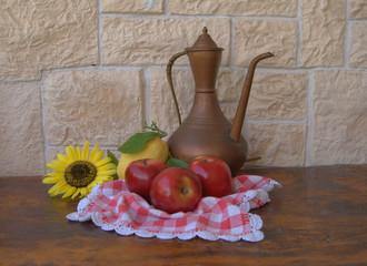 mele e girasole