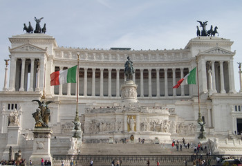 Monumento a Victor Enmanuel en Roma