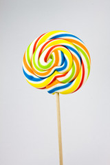 colorful lolipop