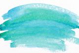 Fototapety Watercolor sea wave