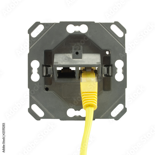 dual-port female connector RJ-45