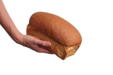 Bread charity concept