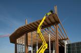 Glued laminated timber - platform mobile poster