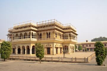 "Mubarak Mahal, the sandstone ""Welcome Palace"" of Maharaja"