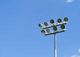 Stadium Lighting, daytime poster