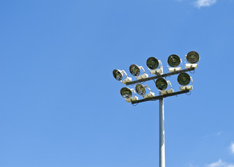 Stadium Lighting, daytime
