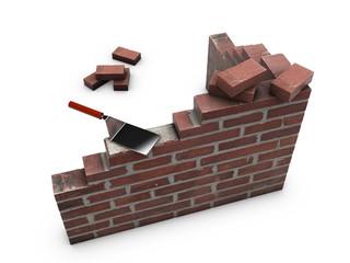 Build Brick Wall 01