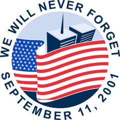 9/11 9-11 911memorial american flag twin towers