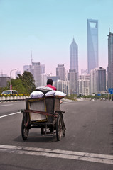 Tricycle à Shanghai - China