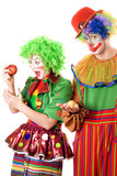 Inequity in the world of clowns
