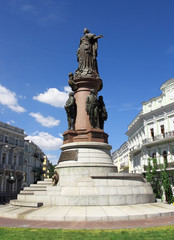 monument of the russian empress