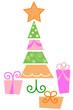 Albero di Natale con regali