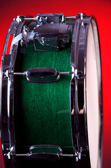 Green Snare Drum