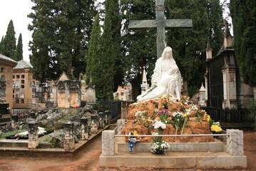 Dos tumbas en el Cementerio de Granada