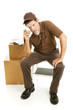 Tired Mover or Delivery Man