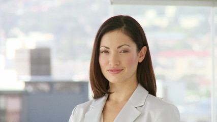 portrait of an attractive business woman