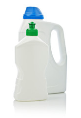big and small cleaning bottle