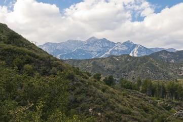 The San Gabriel Mountains; Los Angeles, California, Usa