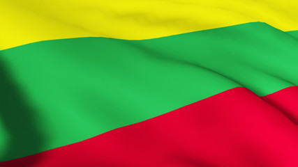 Lithuania Flag in high definition