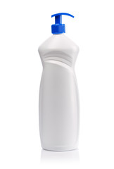 big white spray bottle