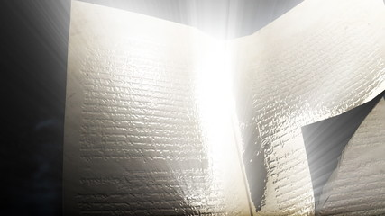 open book animation in high definition