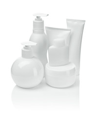 cosmetical tubes and sprays
