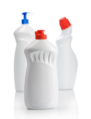 three bottle for clean
