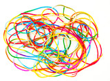 colorful string.