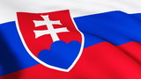 3d Slovakian Flag in High Definition