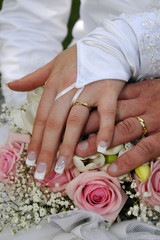 Mariage - Mains