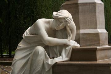 Tristeza en mármol