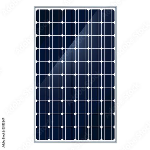 Solar panel front - 25153247