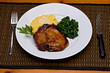 Caramelized Pork Chop Dinner