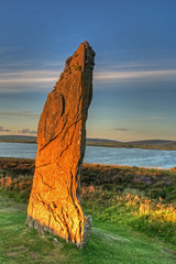 Brodgar Standing Stone Orkney