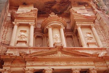 Part of Petra temple