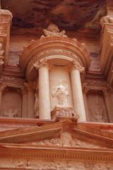 Petra temple element