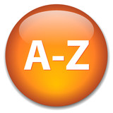 A-Z Web Button (alphabet dictionary directory index find search) poster