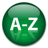 A-Z Web Button (alphabet dictionary index find search directory) poster