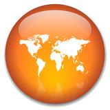 INTERNATIONAL Web Button (global world tour maps travel guide) poster