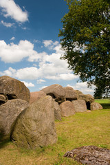 Dutch historical grave